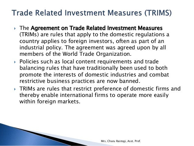 trade agreements and world trade organi International framework agreements  (world trade regime,  friedrich-ebert-stiftung international trade union cooperation briefi ng paper n° 8 / 2008 3.