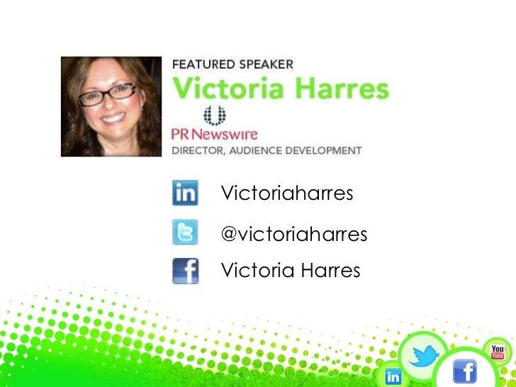 Victoriaharres @victoriaharres Victoria Harres