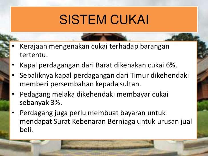 Warisan Kerajaan Melayu Melaka