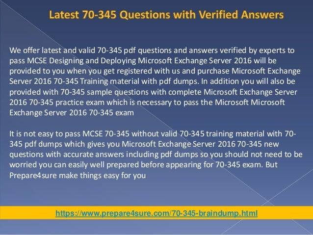 70345-dumps-training-material-microsoft-