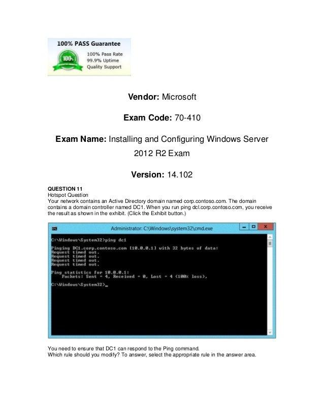 Free Sharing Greatexam Microsoft 70 410 Vce Dumps With New Update Exa
