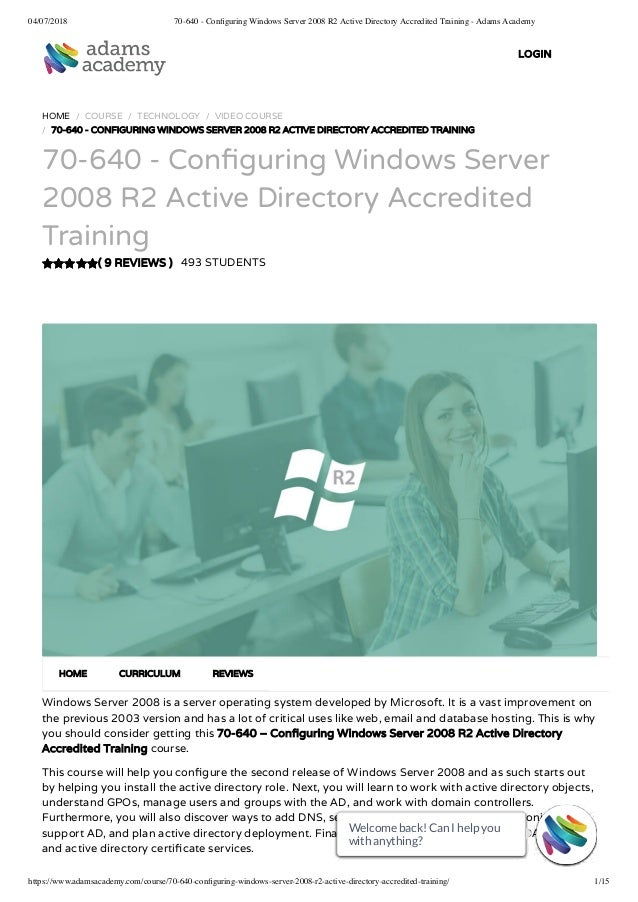 70 643 windows server 2008 applications infrastructure accredited t….