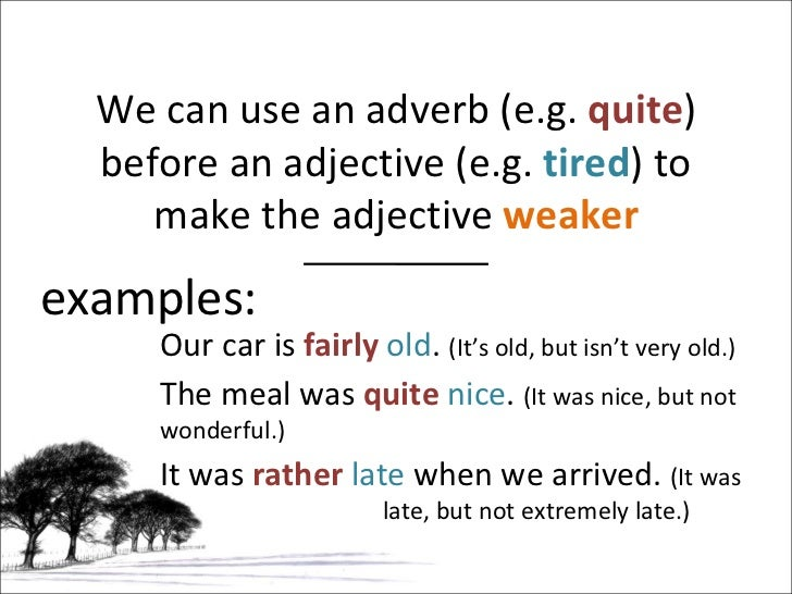 Grammar adverb + adjective; noun + noun.
