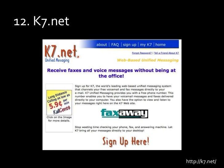 12. K7.net<br />http://k7.net/<br />