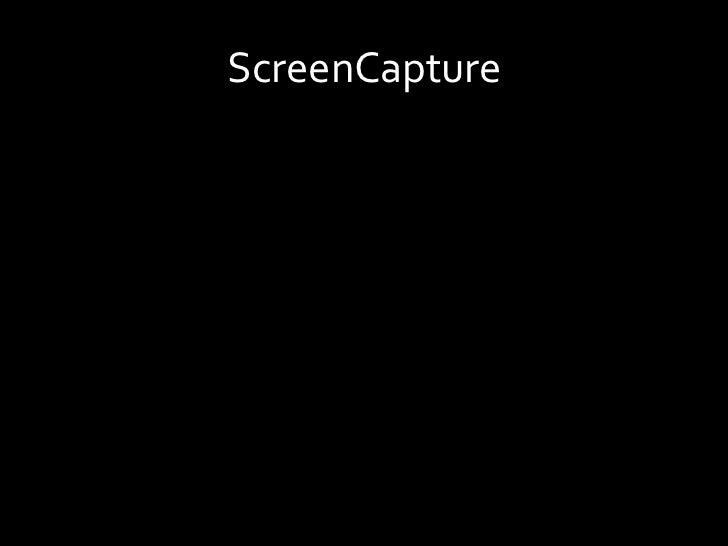 ScreenCapture<br />