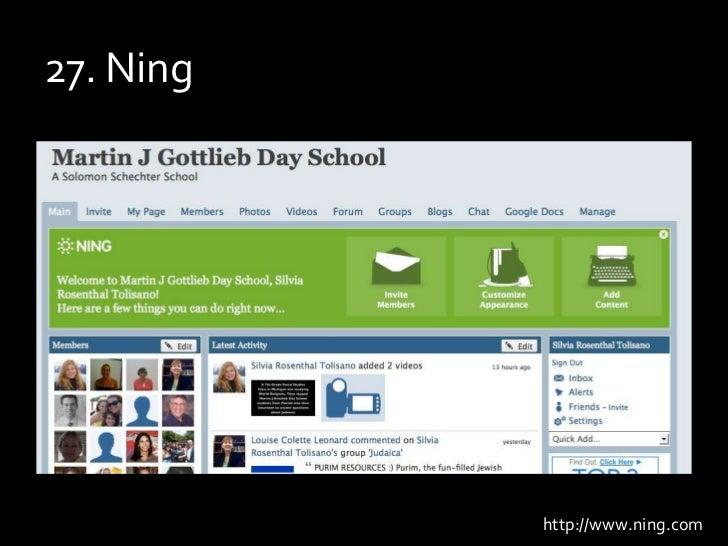 27. Ning<br />http://www.ning.com<br />