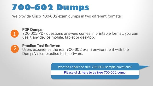 Test 700 a Answers