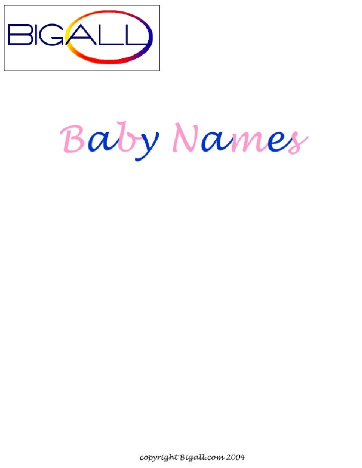 7000 baby names and their meanings