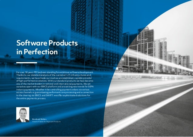 For over 30 years PPI has been standing for ambitious software development. Thanks to our detailed analysis of the custome...