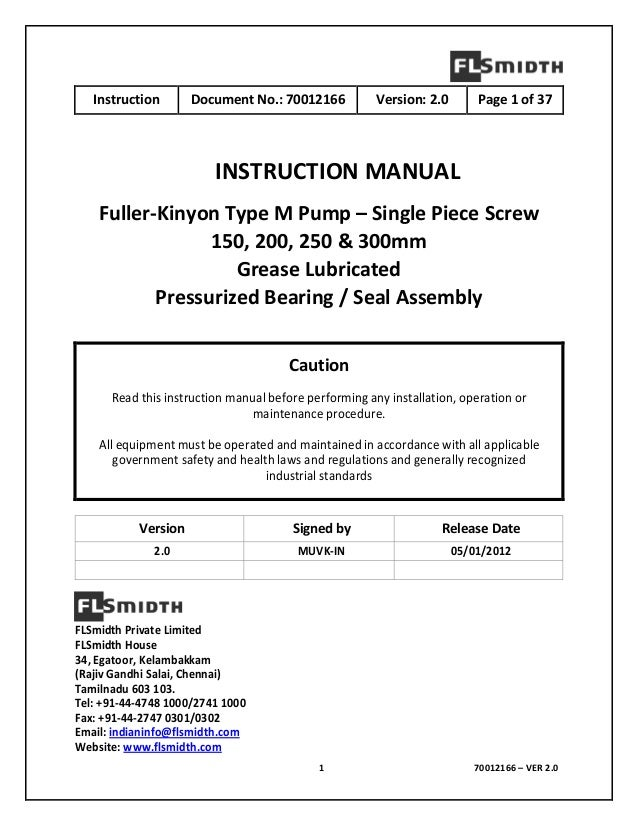 All pump manual array 70012166 fk pump manual rh slideshare net fandeluxe Image collections