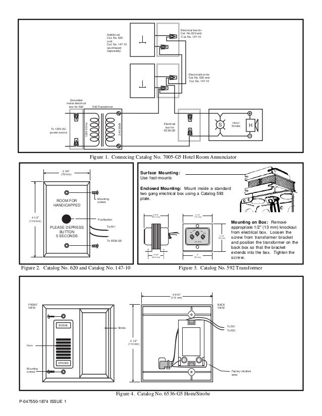 edwards signaling 7005-g5 installation manual  slideshare