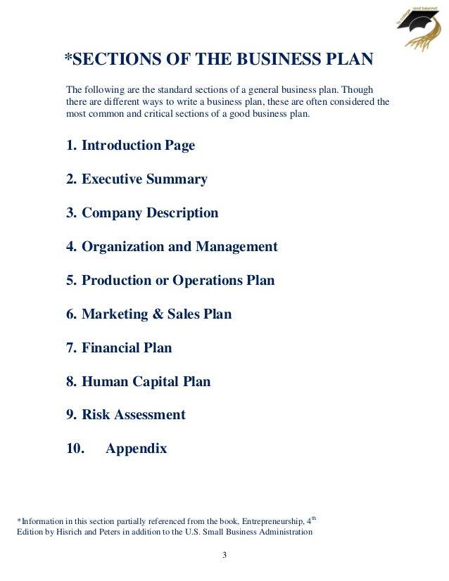 business plan template