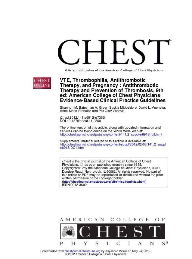 DOI 10.1378/chest.11-2300 2012;141;e691S-e736SChest Anne-Marie Prabulos and Per Olav Vandvik Shannon M. Bates, Ian A. Gree...
