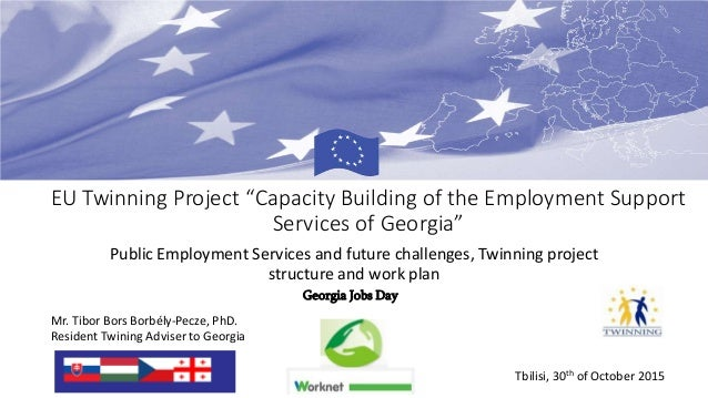 "EU Twinning Project ""Capacity Building of the Employment Support Services of Georgia"" Public Employment Services and futur..."