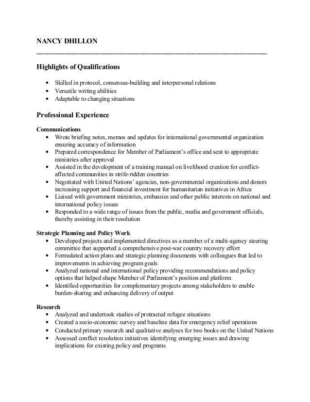 nd resume