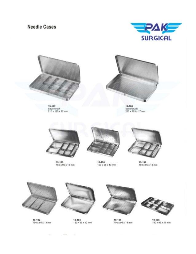 Surgical instruments Pak Surgical Slide 3