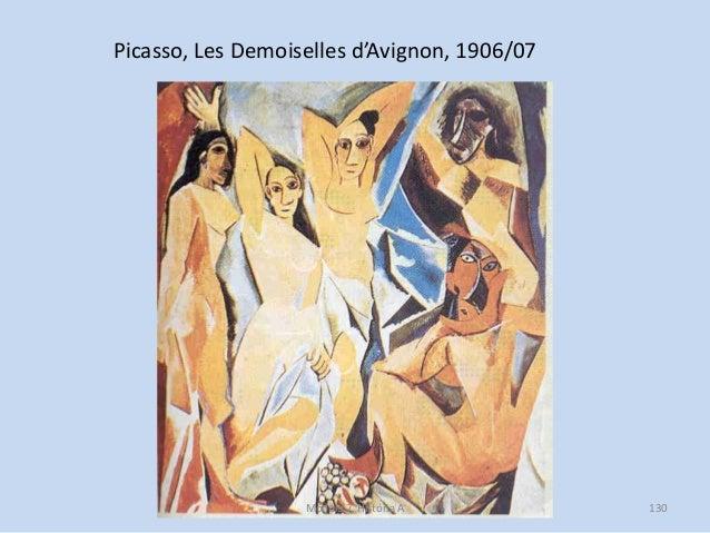 Picasso, Les Demoiselles d'Avignon, 1906/07 Módulo 7, História A 130