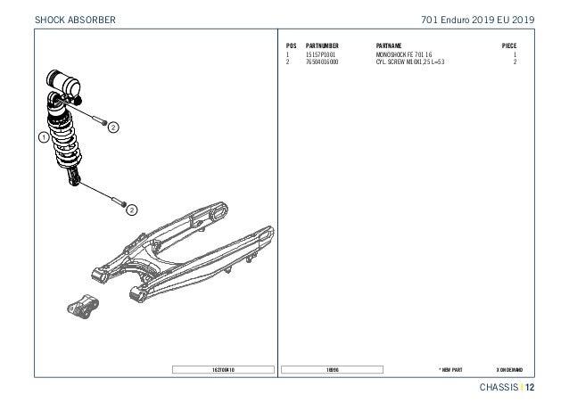 701 enduro 2019 chassis