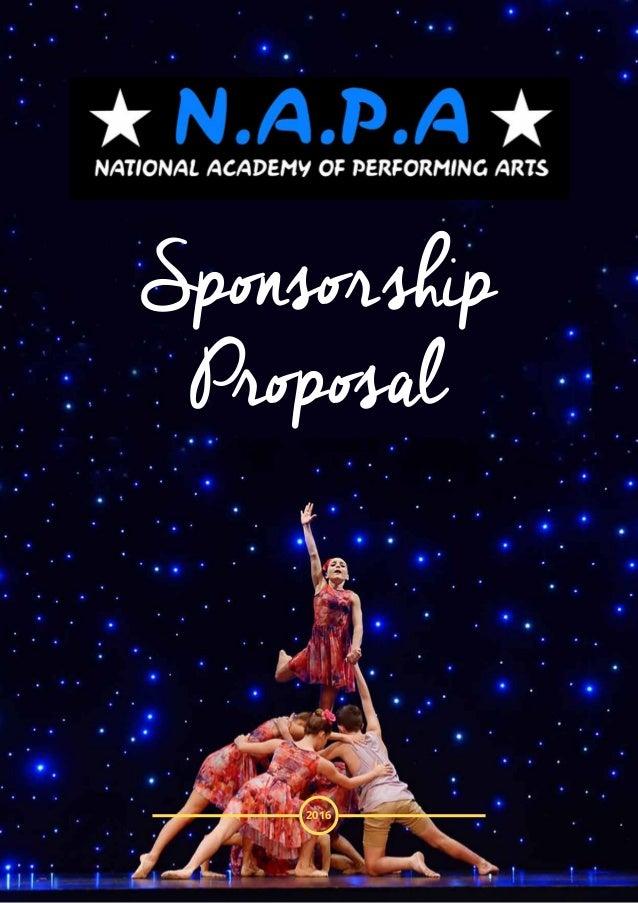 Napa Sponsorship Proposale Mail