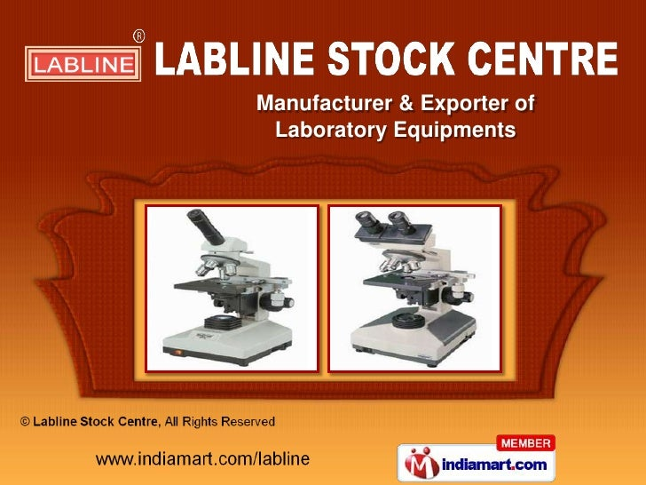 Manufacturer & Exporter of Laboratory Equipments