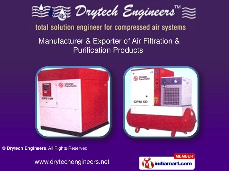 Manufacturer & Exporter of Air Filtration & <br />Purification Products<br />