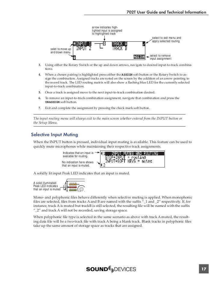 sound devices 702t manual pdf