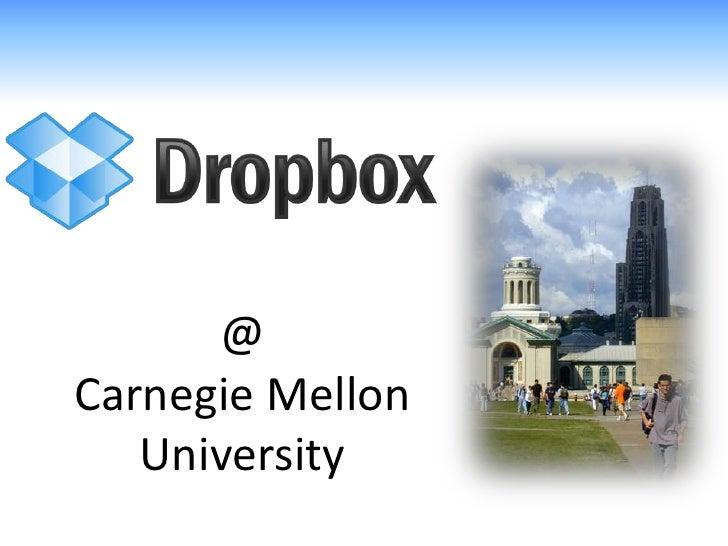 @Carnegie Mellon   University