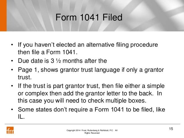accountants guide to grantor trusts 111714