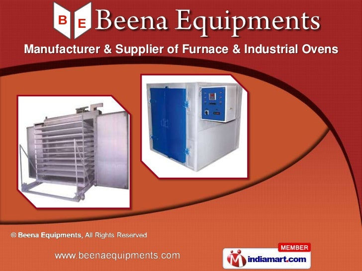 Manufacturer & Supplier of Furnace & Industrial Ovens