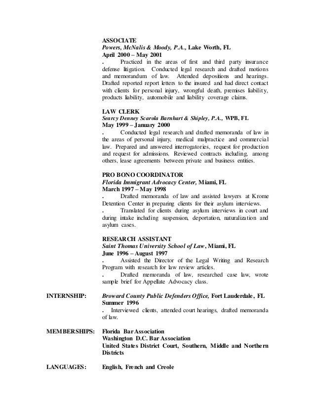 nathalie demesmin u0026 39 s resume