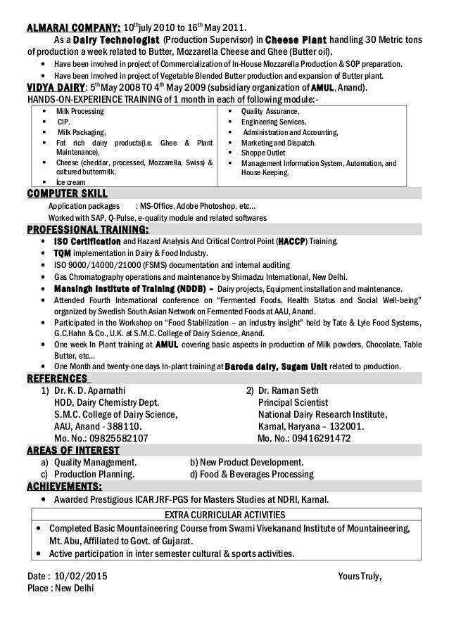 A Sandip Resume