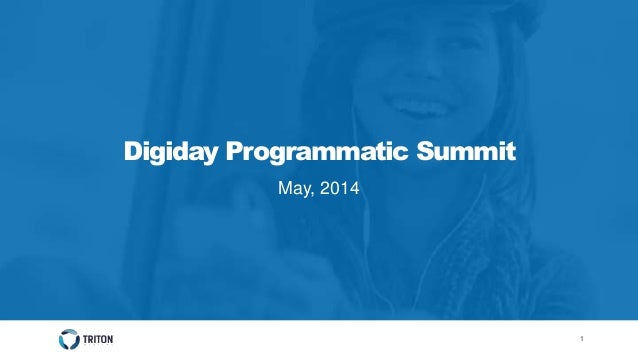 11 Digiday Programmatic Summit May, 2014
