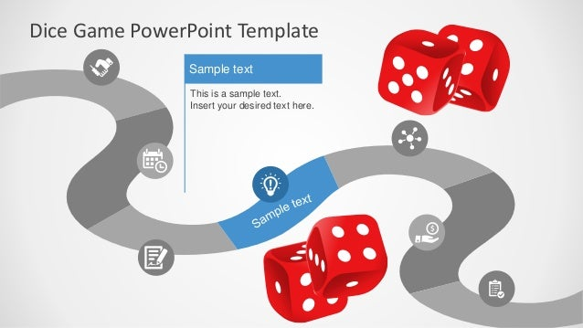 slidemodel - board game powerpoint template, Modern powerpoint