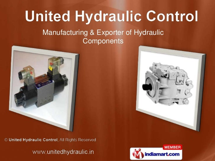 Manufacturing & Exporter of Hydraulic <br />Components<br />