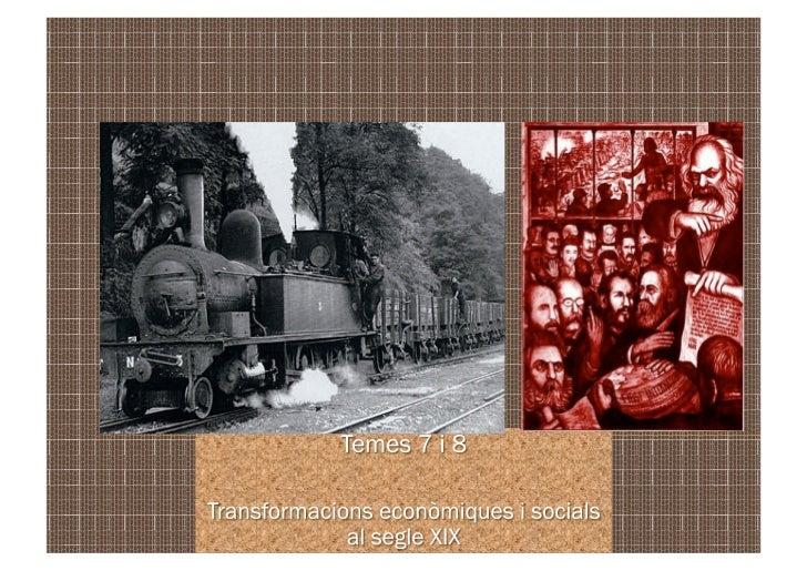 INTRODUCCIÓLa instauració de l'Estat liberal facilità un conjunt de transformacionseconòmiques i socials que coneixem amb ...