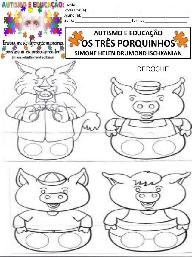 70 Autismo Os Tres Porquinhos