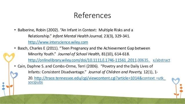 Teen Pregnancy Powerpoint