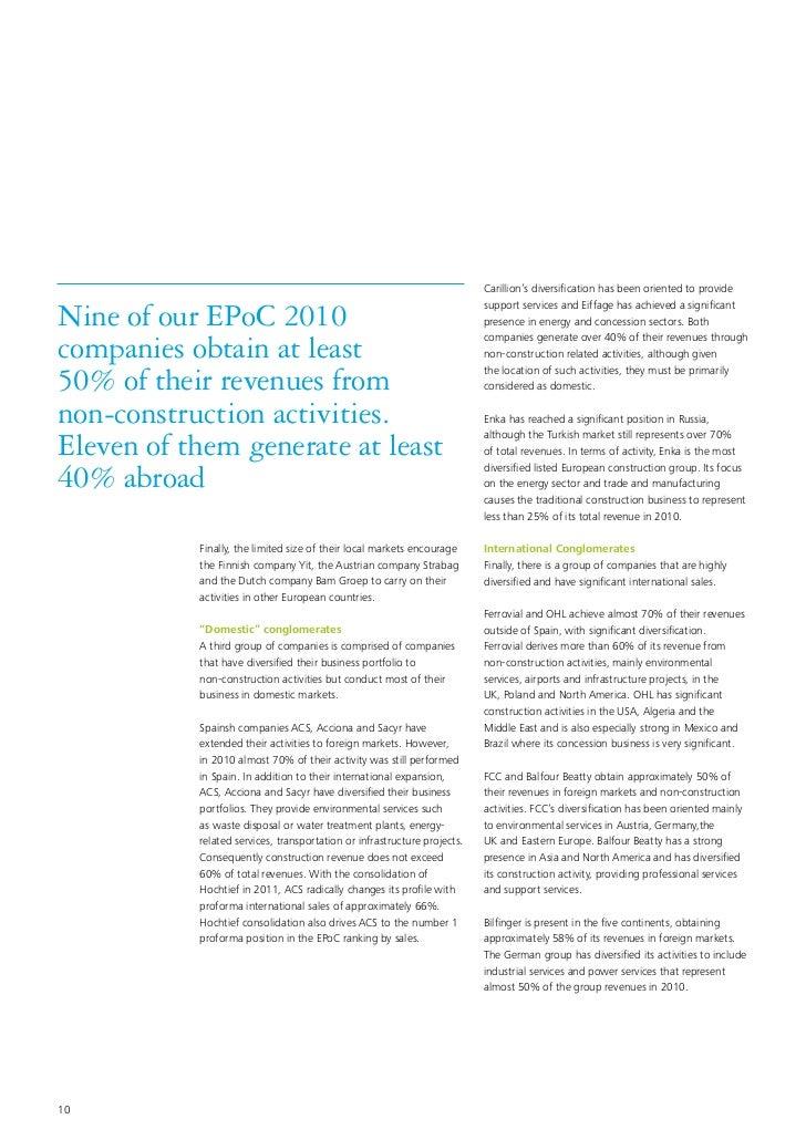 EPoC 2010  European powers of construction
