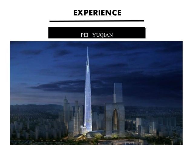 PEI YUQIAN EXPERIENCE