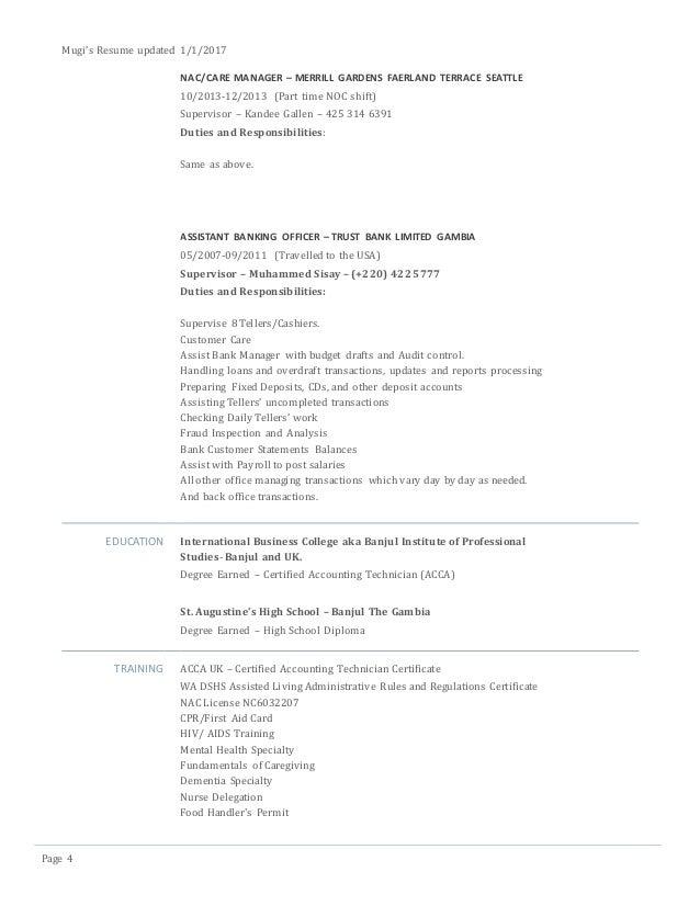 Mugi's New Resume 2017