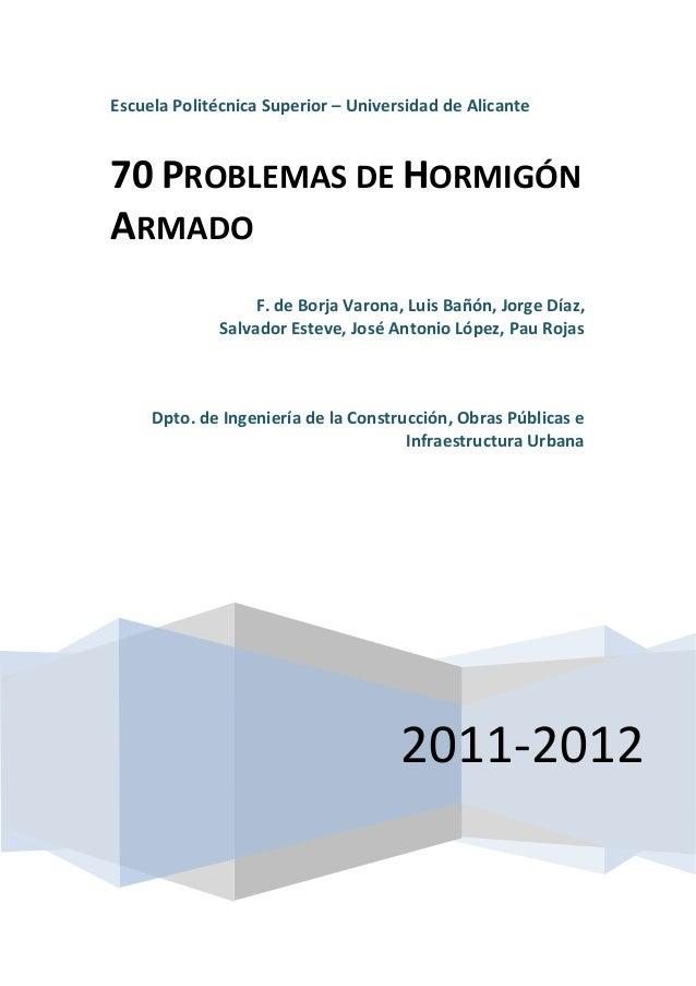 70 Problemas De Concreto Armando