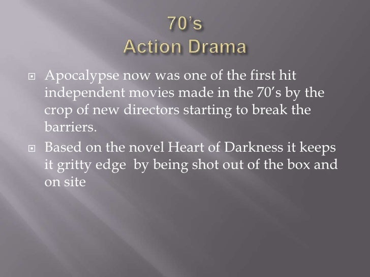 A comparison of the novel heart of darkness by joseph conrad and the film apocalypse now by francis