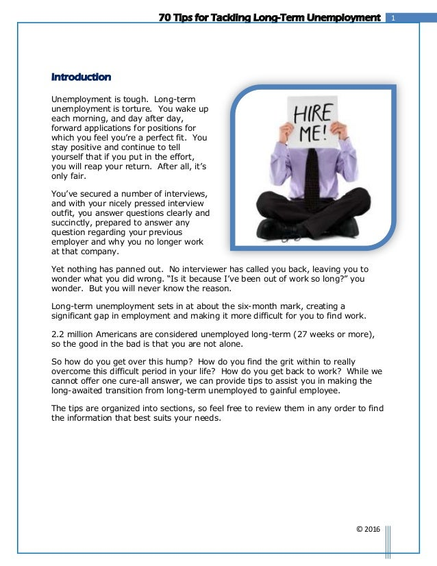 cover letter for long term unemployed thevillas co