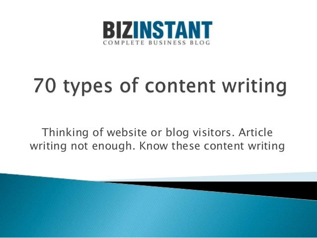 Thinking of website or blog visitors. Article writing not enough. Know these content writing