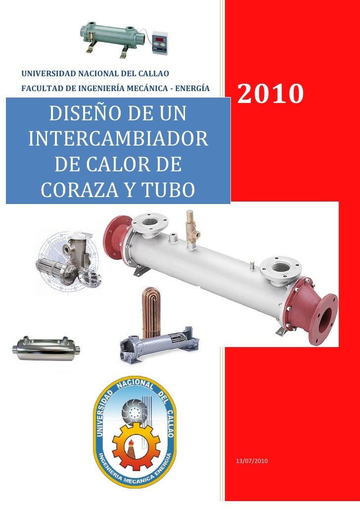 UNIVERSIDAD NACIONAL DEL CALLAOFACULTAD DE INGENIERÍA MECÁNICA - ENERGÍA                                            2010  ...
