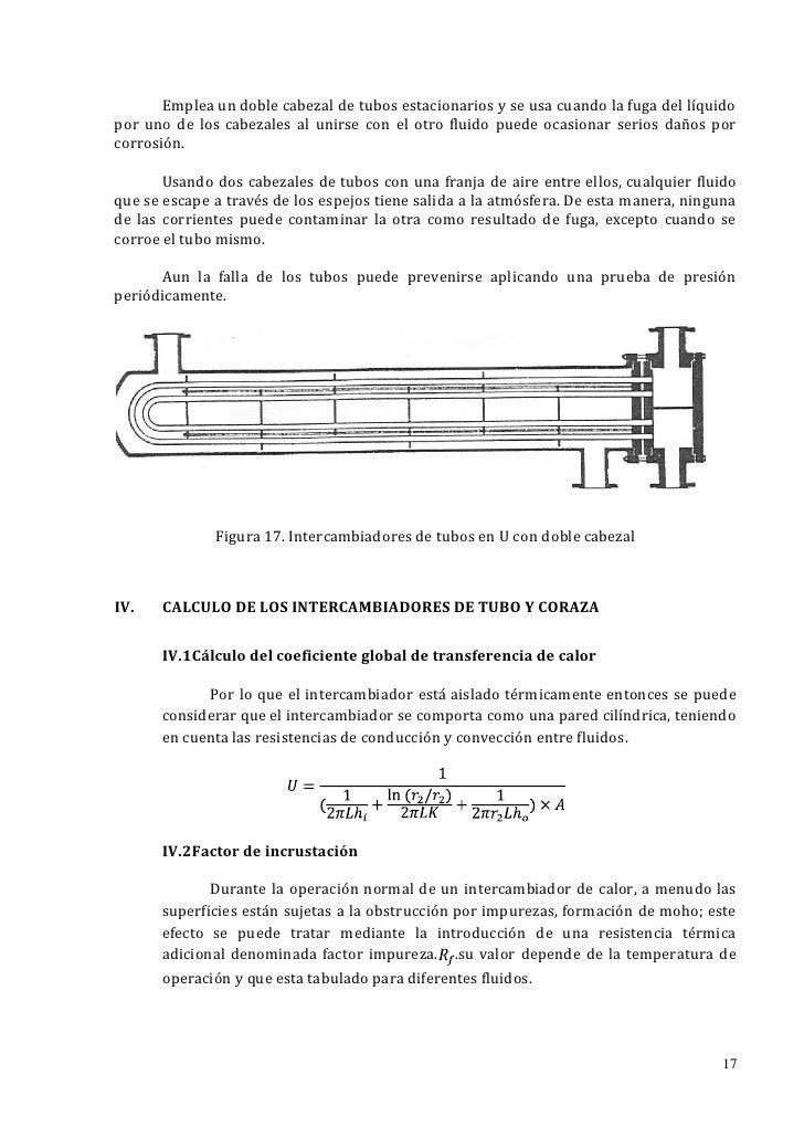 Emplea un doble cabezal de tubos estacionarios y se usa cuando la fuga del líquidopor uno de los cabezales al unirse con e...