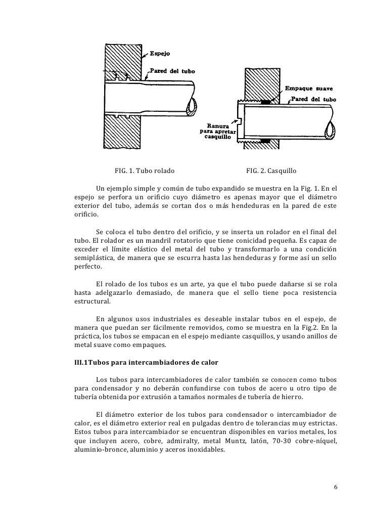 FIG. 1. Tubo rolado                       FIG. 2. Casquillo        Un ejemplo simple y común de tubo expandido se muestra ...