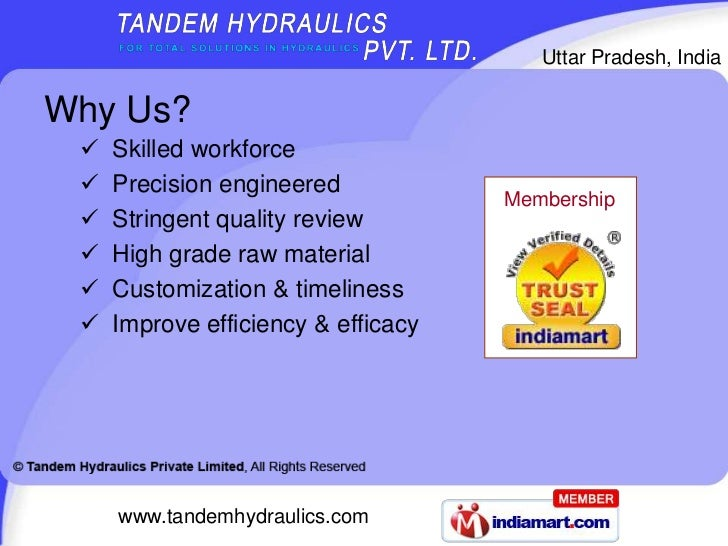 Mobile Control Valve by Tandem Hydraulics Private Limited, Ghaziabad Slide 3