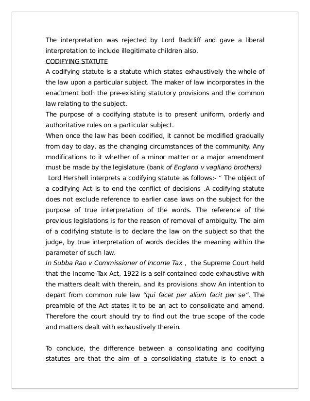 Codifying and consolidating statutes of limitation