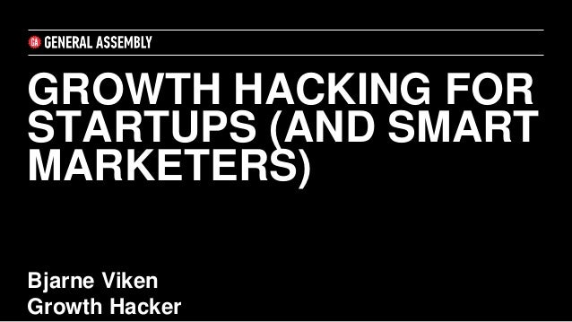 Growth Hacking 101 ppt